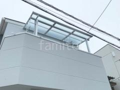 施工例画像:2階ベランダ屋根LIXIL スピーネF