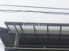 施工例画像:本体色 アーバングレー  屋根色 かすみ