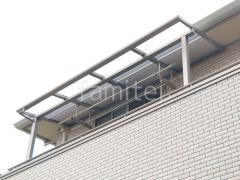 施工例画像:ベランダ屋根 LIXIL スピーネ タイルデッッキ 化粧砂利
