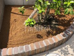 施工例画像:レンガ花壇