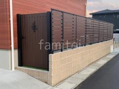 施工例画像:新築オープン外構