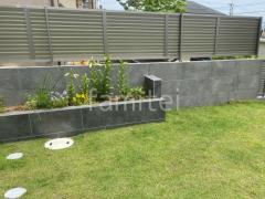 施工例画像:境界塀 タカショーセラレバンテ