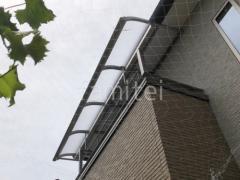 施工例画像:ベランダ屋根 YKKソラリアR