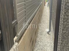 施工例画像:目隠しフェンス