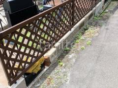 施工例画像:アルミ形材 YKK 木製調スタンダード2型