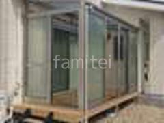 施工例画像:ガーデンルーム YKKソラリア