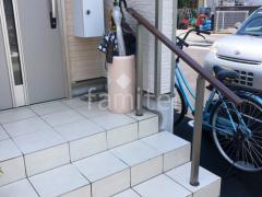 施工例画像:プランター  立水栓 手すり