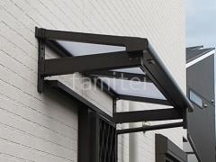 施工例画像:LIXIL 柱なしテラス屋根 スピーネF アルミ形材 AB YS3型