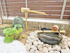 施工例画像:和風坪庭