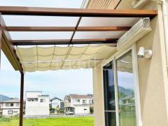 施工例画像:オプション 天井カーテン