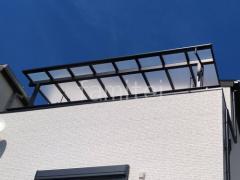 施工例画像:雨除け屋根 LIXILスピーネF VS F