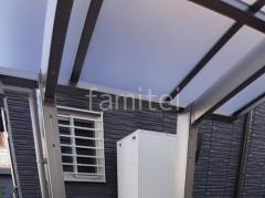 施工例画像:本体色 シャイングレー 屋根色 クリアマット