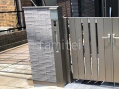 施工例画像:機能門柱 LIXILリクシル テグラン C型