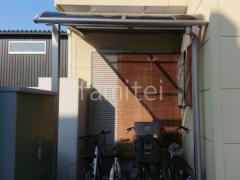 施工例画像:1階テラス屋根 YKK ソラリアR