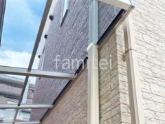 施工例画像:屋根色 アースブルー
