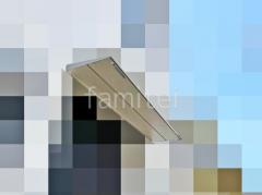 施工例画像:本体色 シャイングレー 屋根色 クリアマットS