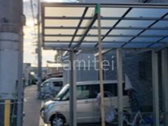 施工例画像:カーポート1台 LIXIL ネスカF