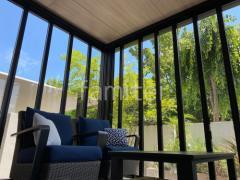 施工例画像:カーポート ガーデンルーム