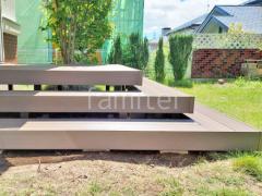 施工例画像:オプション 階段ステップ2段