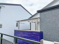 施工例画像:ベランダ屋根 YKKソラリア2階