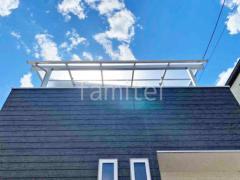 施工例画像:テラス屋根 ベランダ屋根 カーポート