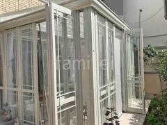 施工例画像:ガーデンルーム LIXIL暖蘭物語 Aガラス