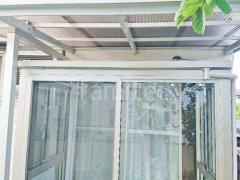 施工例画像:本体色 プラチナステン 屋根材 トーメイマット