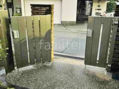 施工例画像:玄関門扉 カーポート