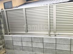 施工例画像:新築シンプル オープン外構