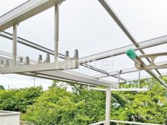 施工例画像:ベランダ屋根 カーポート