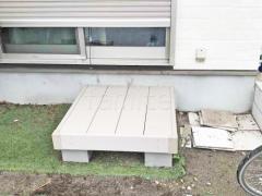 施工例画像:人工木ウッドデッキ YKKリウッドデッキ200