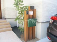 施工例画像:機能門柱 YKKAP ルシアスアクセントポール