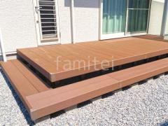 施工例画像:床色 レッドブラウン
