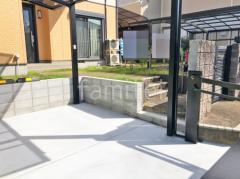 施工例画像:土留めコンクリートブロック