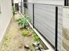 施工例画像:境界フェンス塀 三協ユメッシュG型
