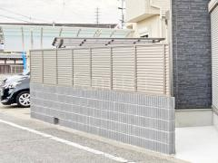 施工例画像:塀まわりリフォーム