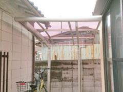 施工例画像:自転車バイク屋根 プライスポートミニ