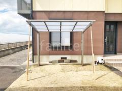 施工例画像:自転車バイク屋根 LIXILネスカR