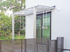 施工例画像:新築ナチュラル オープン外構