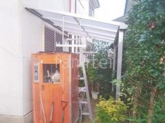 施工例画像:雨除け屋根 カーポート