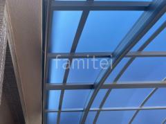 施工例画像:屋根色:ブルーマット