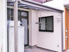 施工例画像:雨除け屋根 LIXILスピーネ1階