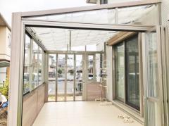 施工例画像:木製調ガーデンルーム LIXILガーデンルームGF