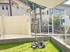 施工例画像:シンボルツリー スモークツリー グリーンボール 落葉樹 植栽
